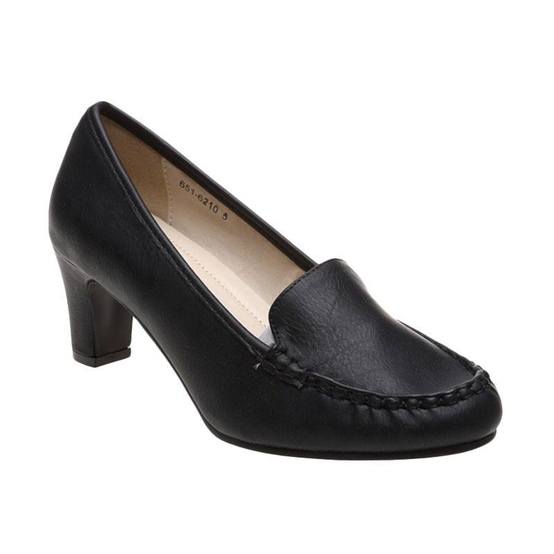 Bata Ladies Valene 651-6210 Black Sepatu Wanita