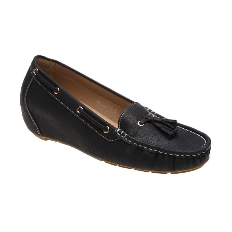 Bata Ladies Valonia 751-6251 Black Sepatu Wanita