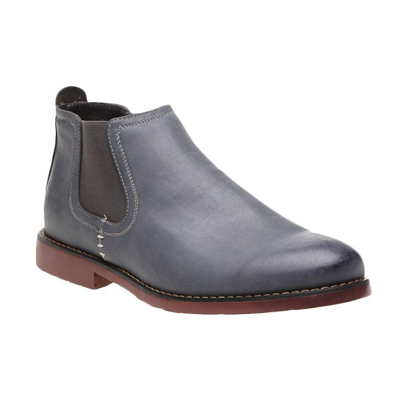 Bata Men Coe Grey 801-2449 Sepatu Pria