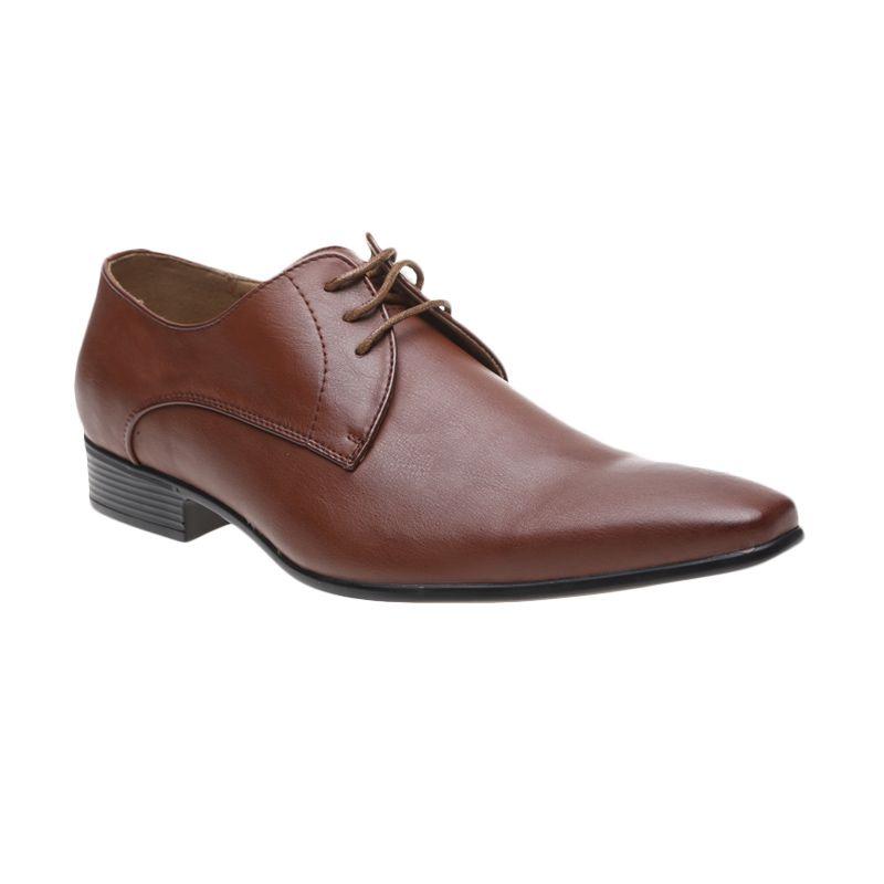 Bata Formal Dany 821-4114 Brown Sepatu Pria