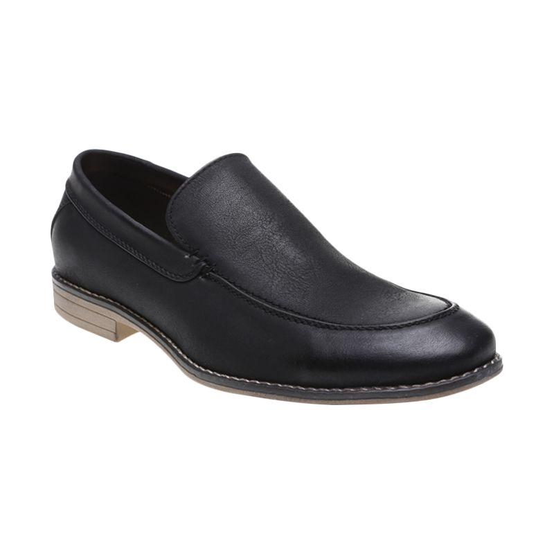 Bata Men Doc 851-6473 Black Sepatu Formal