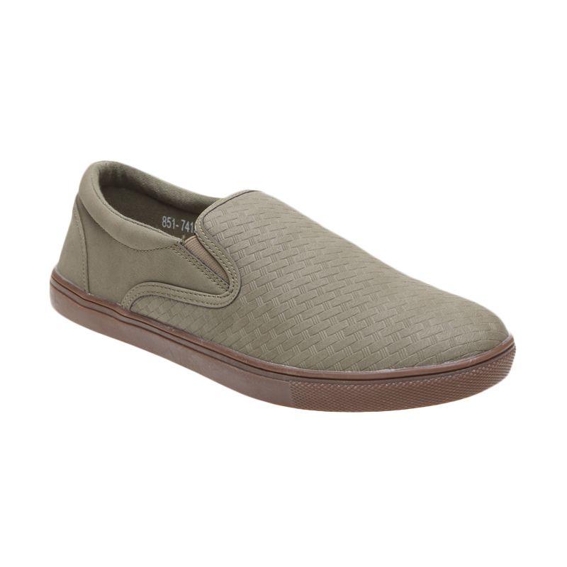 Bata Xeng 851-7415 Green Sepatu Pria