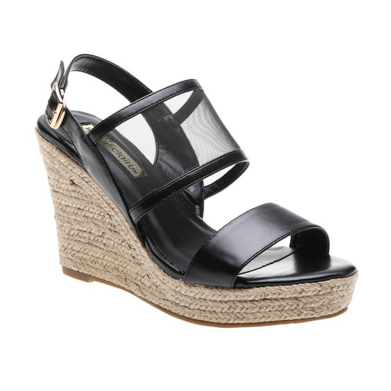 Marie Claire Faith 661-6747 Black Sepatu Wanita