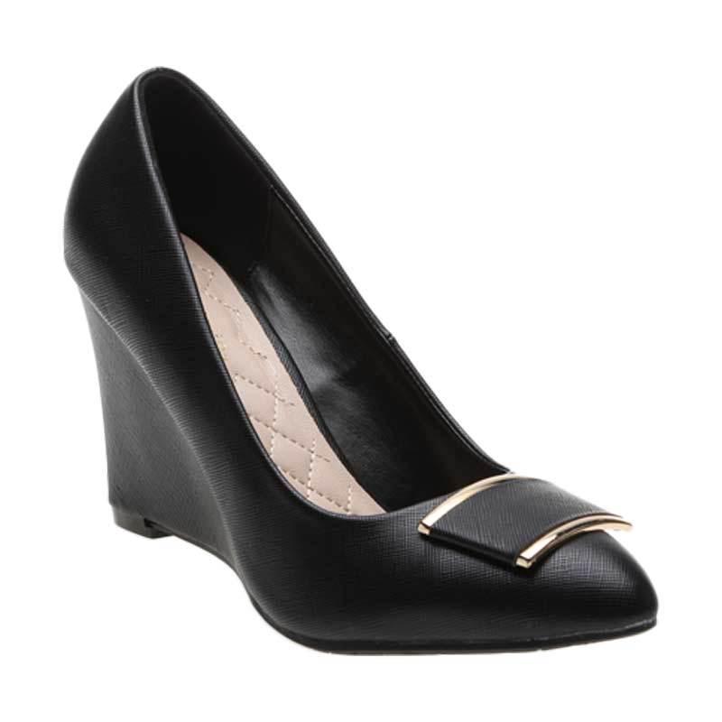 Marie Claire Gen 671-6210 Black Sepatu Wanita