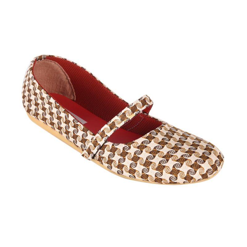 Sepatu Kultur Jaqueline BLI-014 Brown Sepatu Wanita