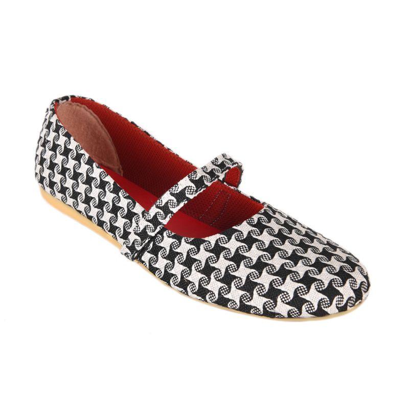 Sepatu Kultur Jaqueline BLI-017 Black Sepatu Wanita