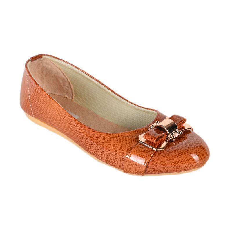 Sepatu Kultur Kelsie BLI-056 Orange Brown Sepatu Wanita