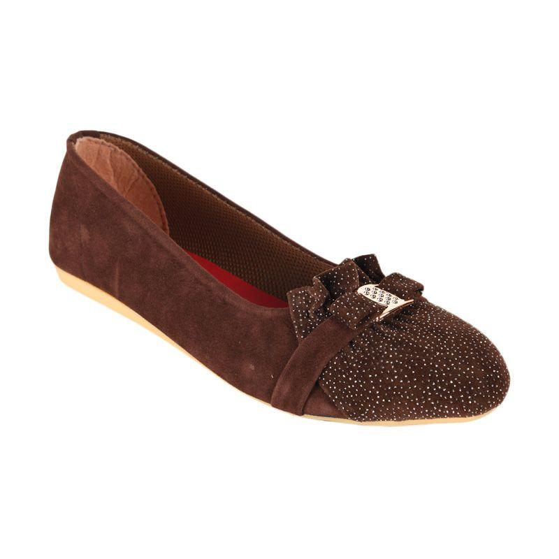 Sepatu Kultur Lisetta BLI-001 Brown Sepatu Wanita