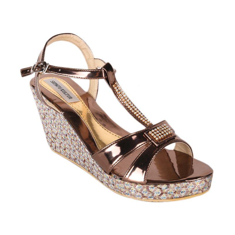Sepatu Kultur Lucy BLI-046 Brown Sepatu Wanita