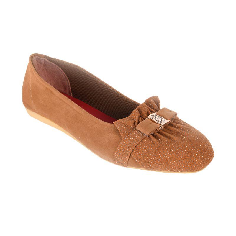 Sepatu Kultur Quinn BLI-006 Nude Brown Sepatu Wanita