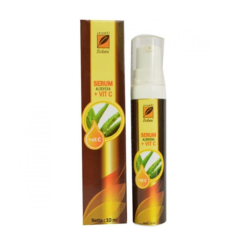 Serambi Botani Serum Aloevera dan Vitamin C Serum Wajah