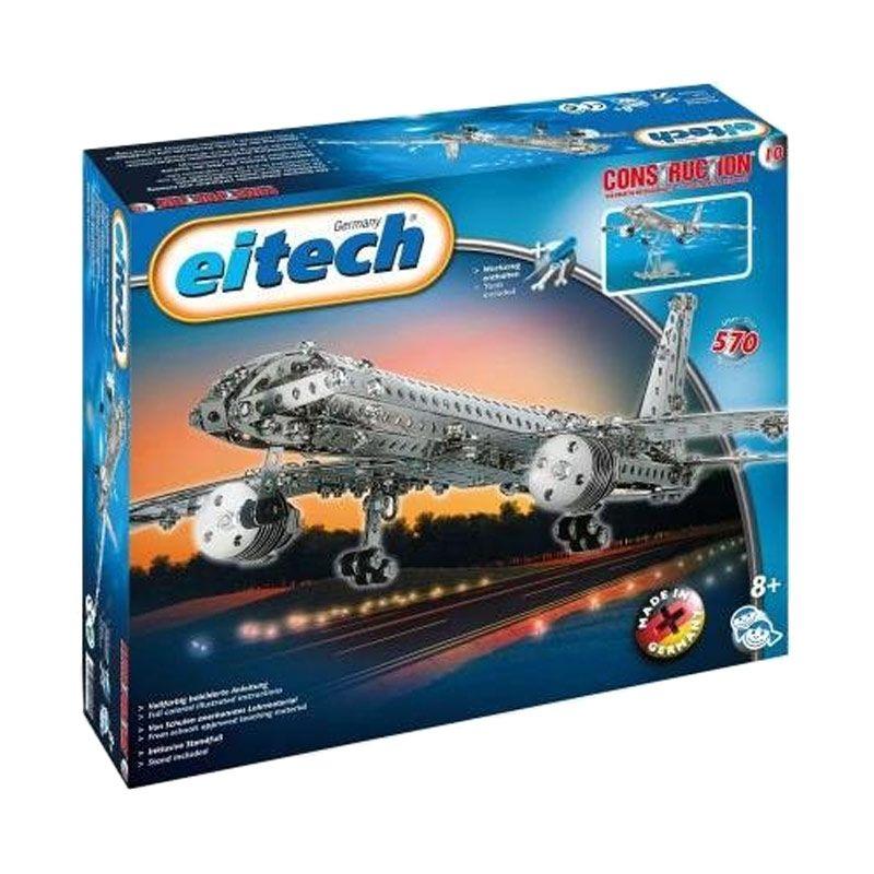 Eitech Aircraft Silver Mainan Anak