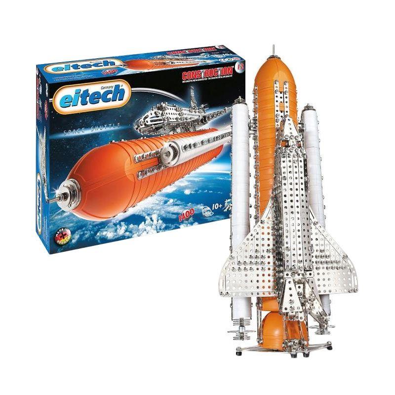 Eitech C12 Space Shuttle Silver Mainan Anak