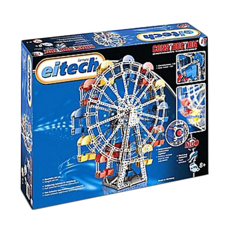 Eitech Metal Cons C17 Ferris Wheel Silver Mainan Anak