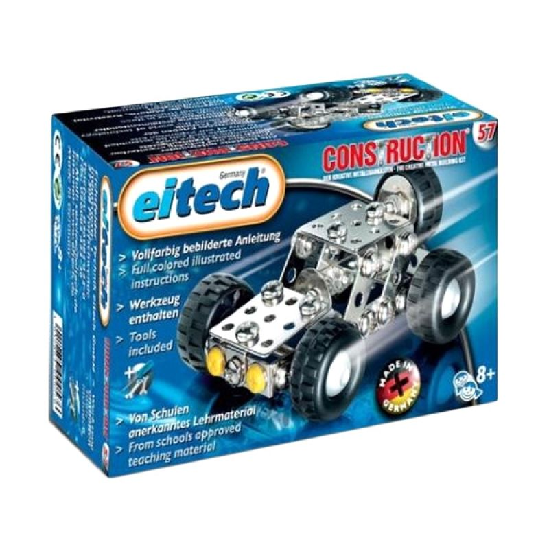 Eitech Star Box C57 Mini Jeep Silver Mainan Anak