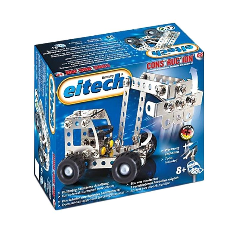 Eitech Star Set C68 Digger or Truck Silver Mainan Anak