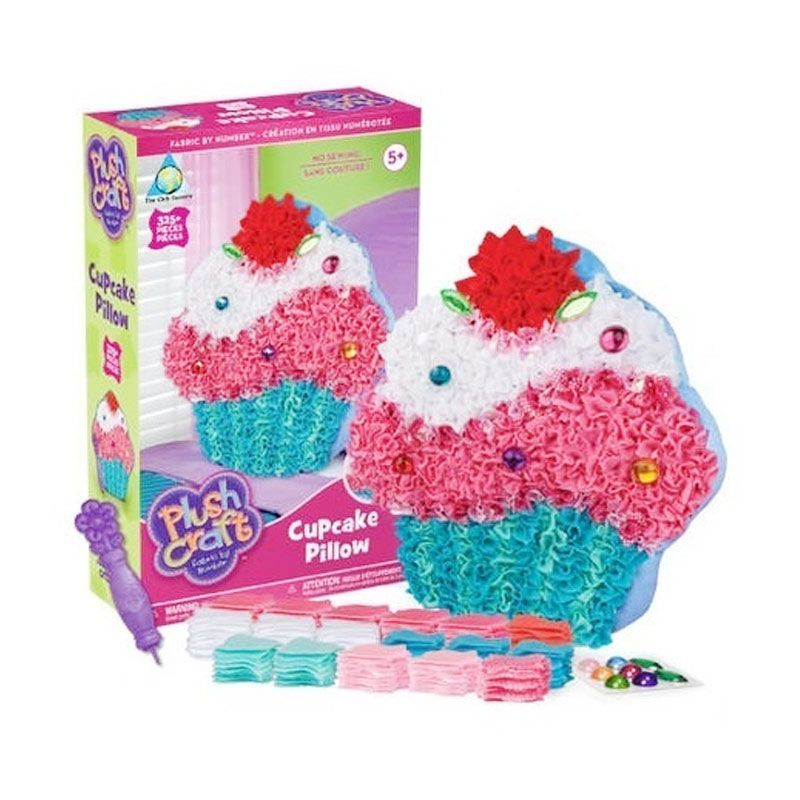 Plushcraft Cupcake Pillow Mainan Anak