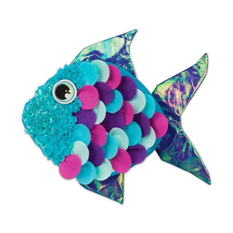Plushcraft Fancy Fish Pillow Mainan Anak