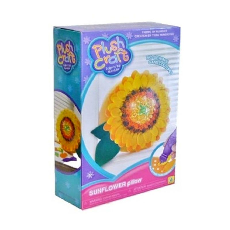 Plushcraft Sunflower Pillow Mainan Anak