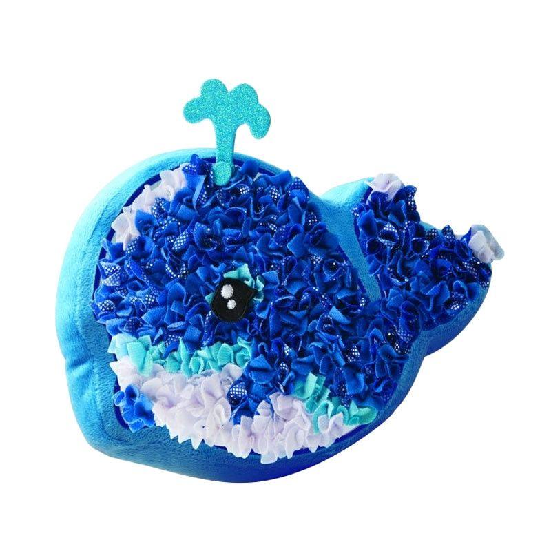 Plushcraft Whale Pillow Mainan Anak