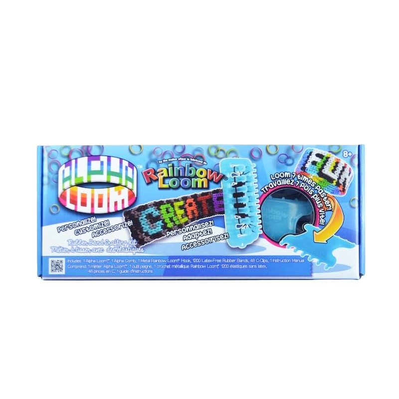 Rainbow Loom Alpha Loom Multicolor Mainan Anak
