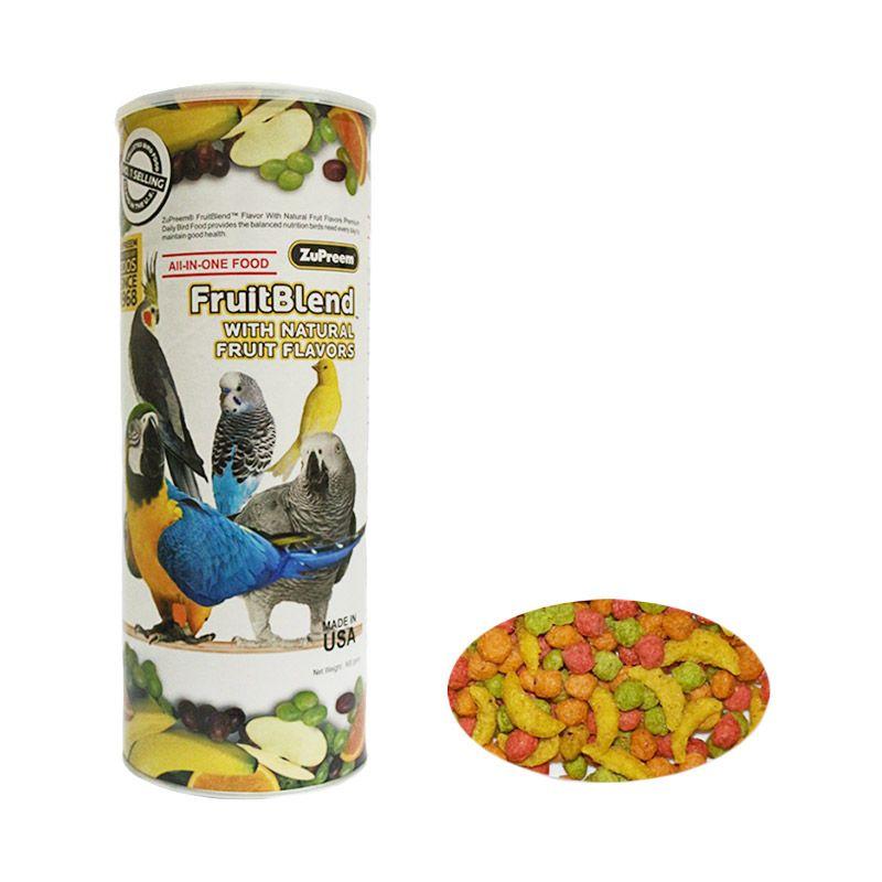 ZuPreem FruitBlend M Pakan Burung [900 g]