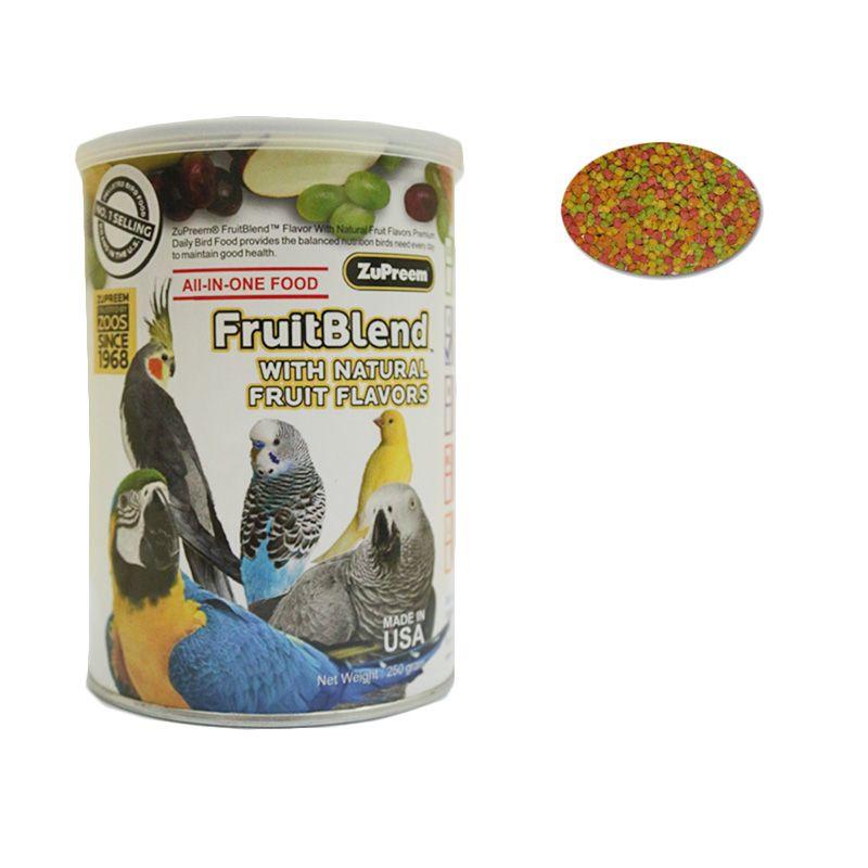 ZuPreem FruitBlend XS Makanan Burung [250 gr]
