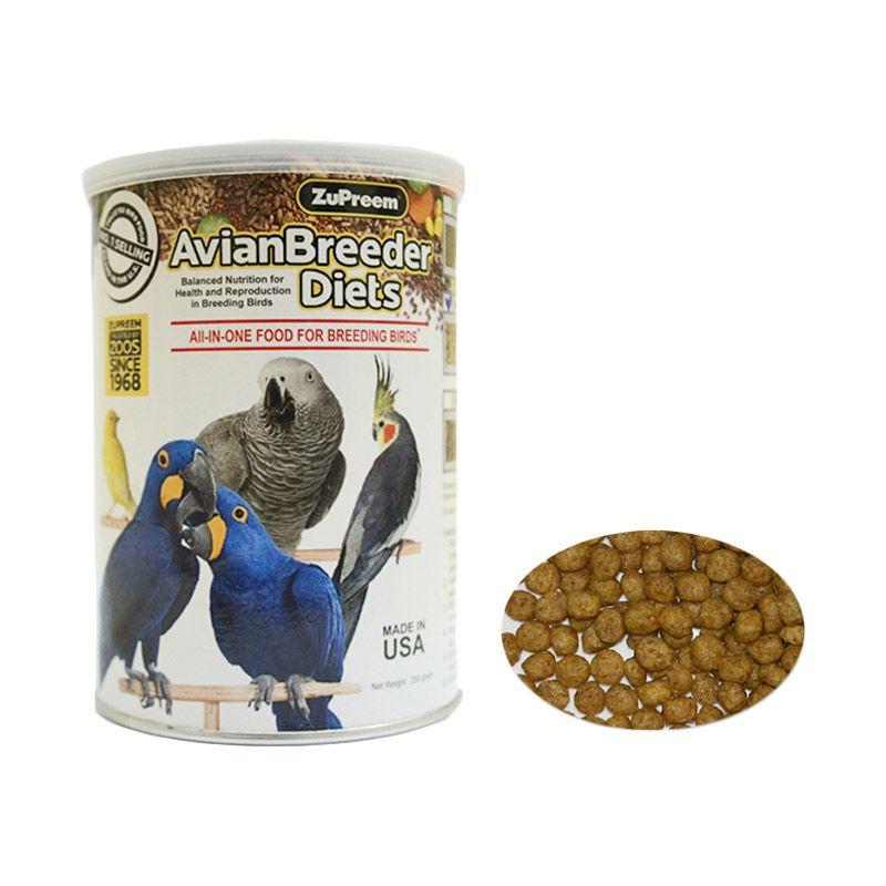 ZuPreem Natural Avian Breeder M Pakan Burung [250 g]