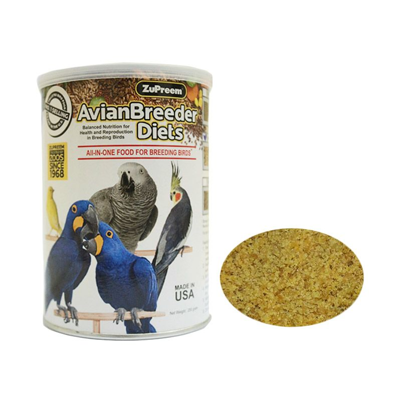 ZuPreem Natural Avian Breeder S Pakan Burung [250 g]
