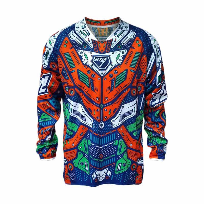 Jual seven7 max robo jersey orange cek harga di PriceArea.com aea107b13