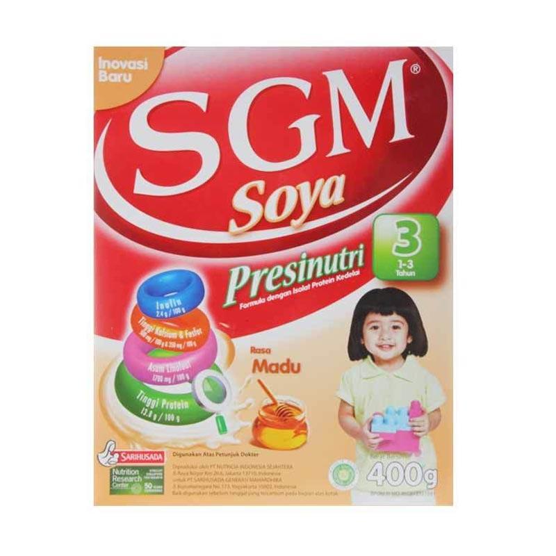 SGM Soya 1-5 Tahun Madu [400 gr]