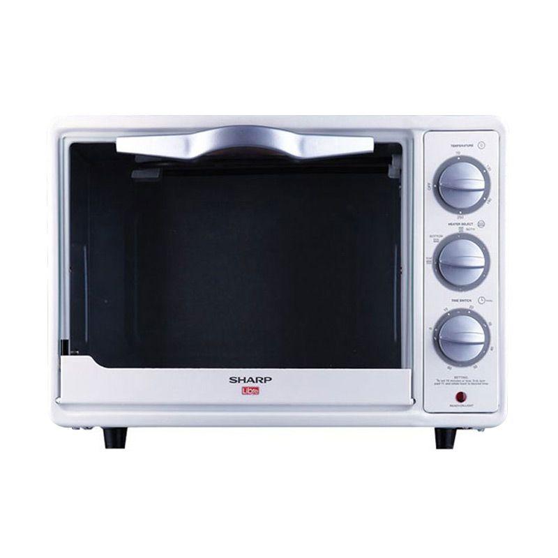 SHARP EO18L White Oven Toaster Khusus Jakarta