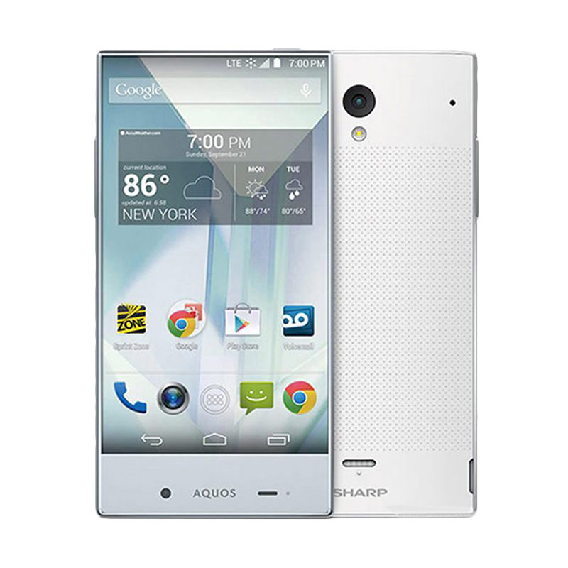 Sharp Aquos Crystal SH825Wi Smartphone - White [8GB/ 1.5GB]