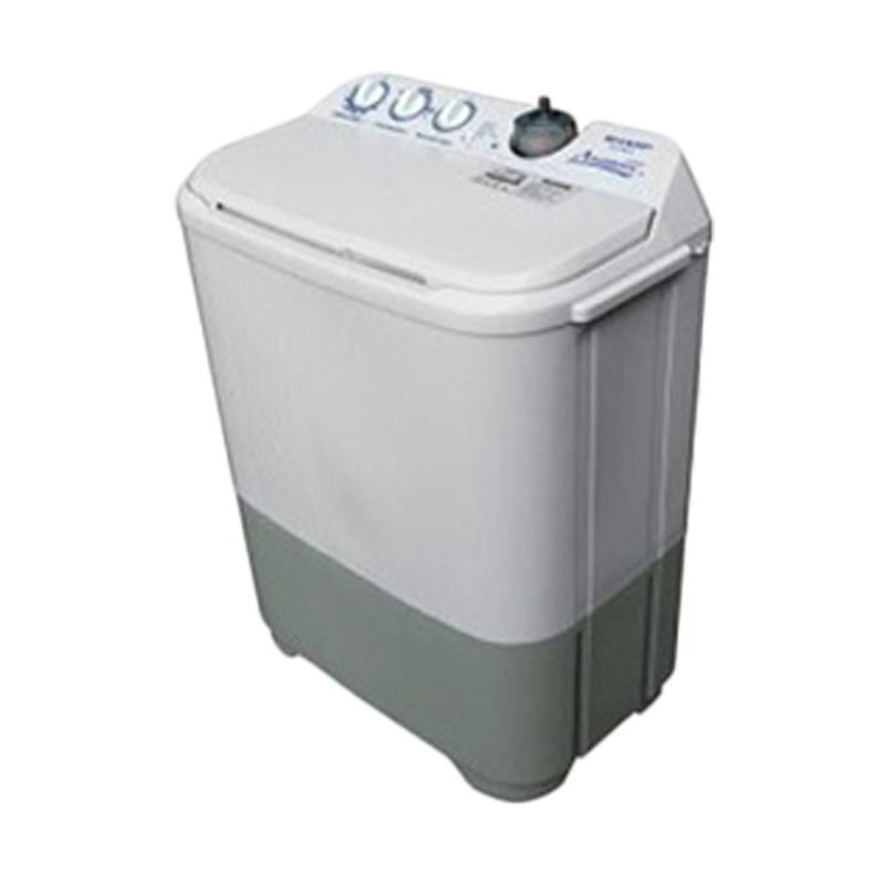 SHARP ES-T77F-PBK/PPK Mesin Cuci [7 kg] [hanya JADETABEK]