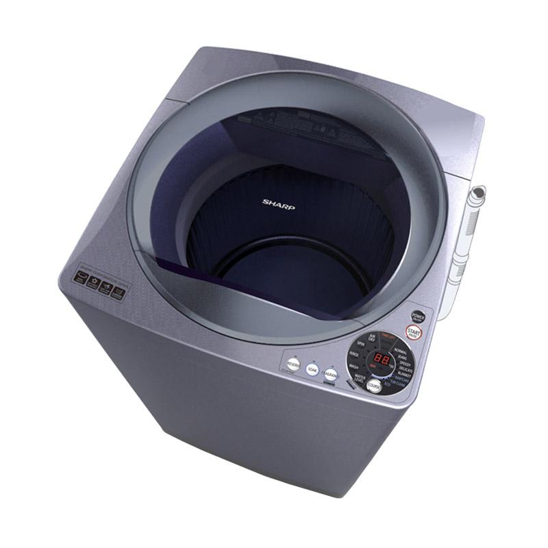 Sharp ESM1008TSA Mesin Cuci [Top Loading]