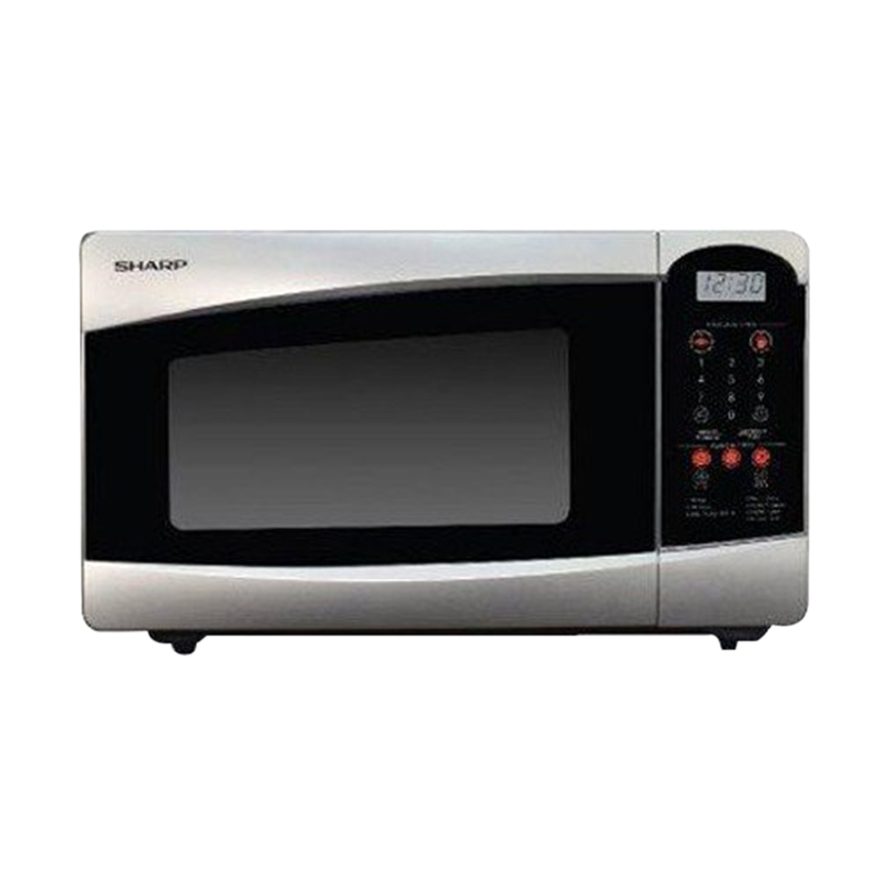 SHARP R-25C1 (S) IN Microwave Oven [22 L] Extra diskon 7% setiap hari Extra diskon 5% setiap hari