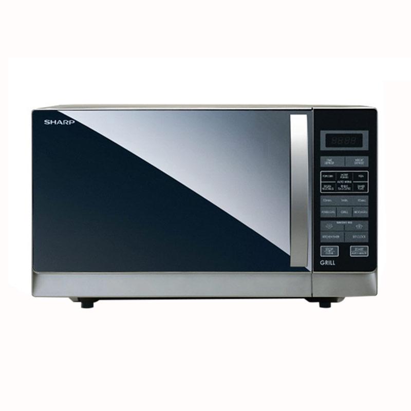 Sharp R 728 K IN Microwave Hitam