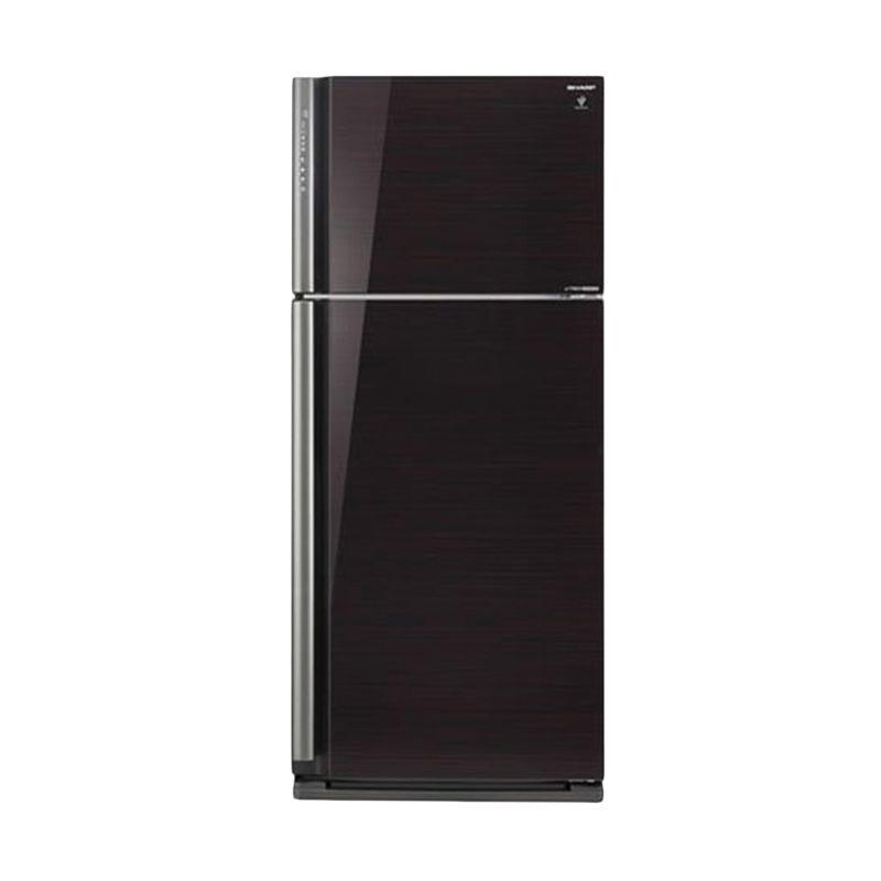 harga Sharp SJ-IP861NLV-BK Hitam Lemari Es 2 Pintu [Ion PlasmaCluster] Blibli.com