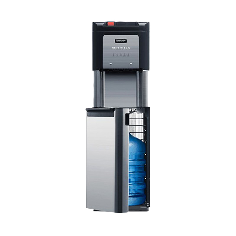 SHARP SWD-75EHL-SL Water Dispenser - Silver [Bottom Loading]