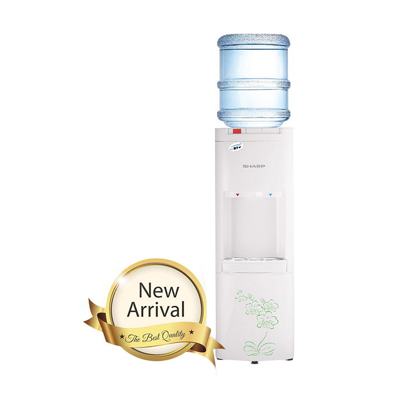 Jual SHARP SWD T92ED WH Top Loading White Water Dispenser