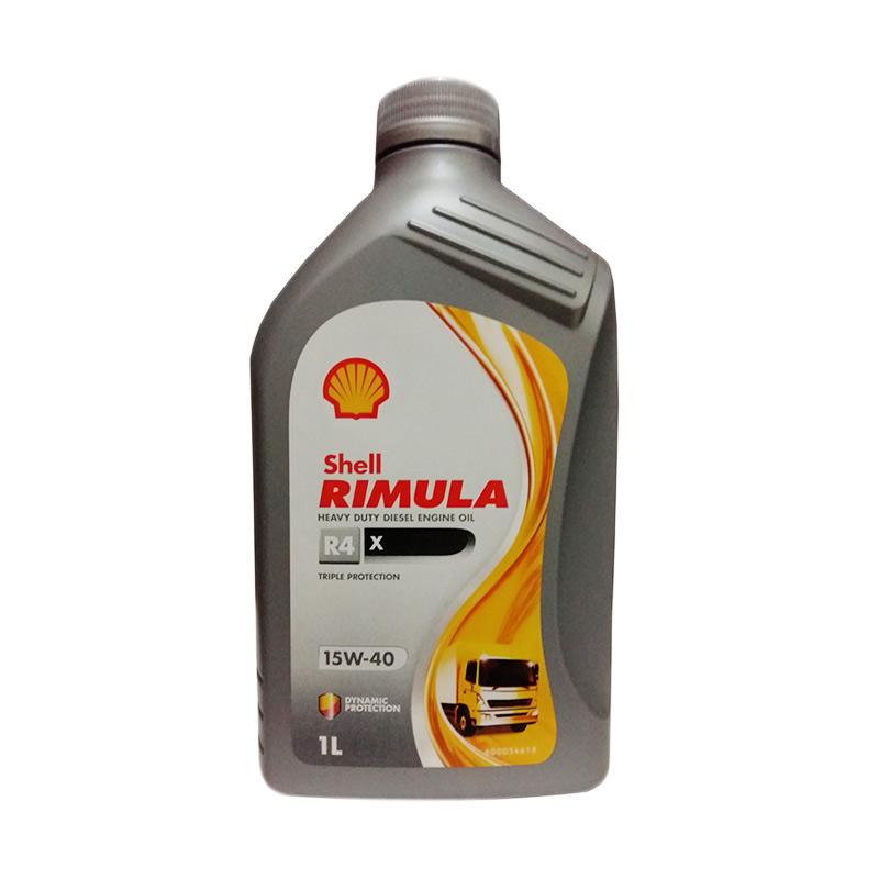 Shell Rimula R4X 15W-40 Oli Mobil Mesin Diesel [1 Liter]