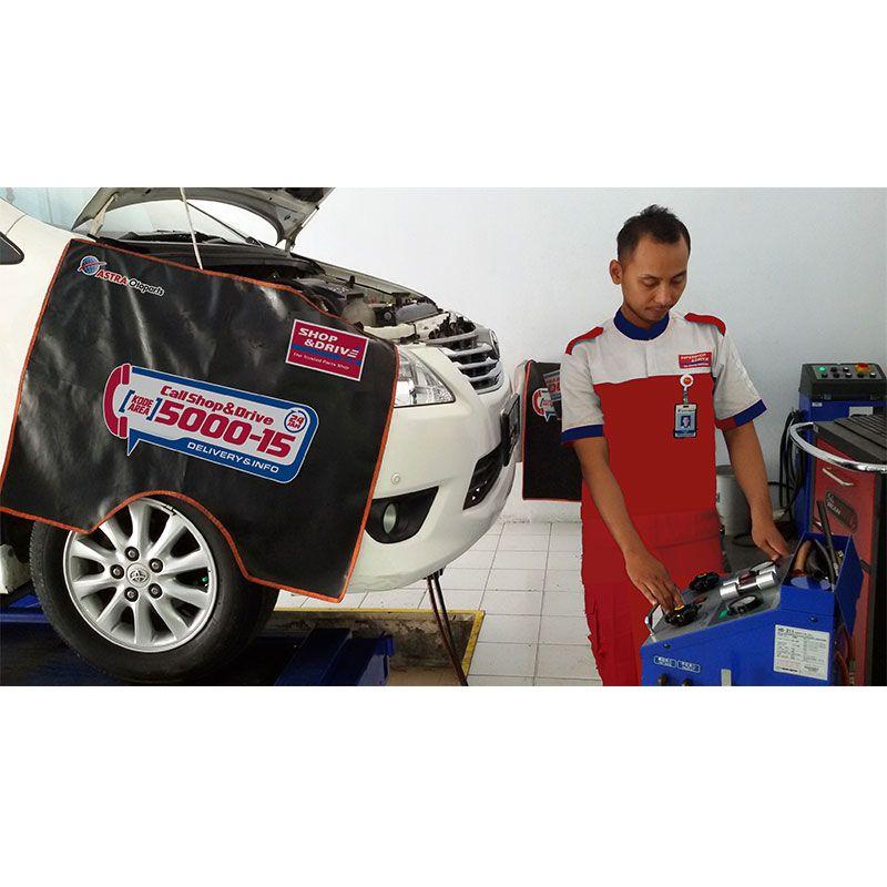 Shop&Drive - Paket Jasa Kuras Matic dan Kuras Nitrogen [4 Ban]