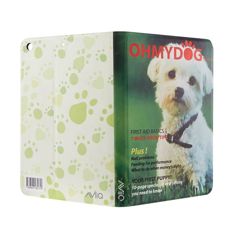 AviiQ iPad Air Magazine Case - Dog