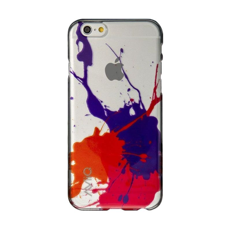 AviiQ Splash Art Purple Pink Casing for iPhone 6