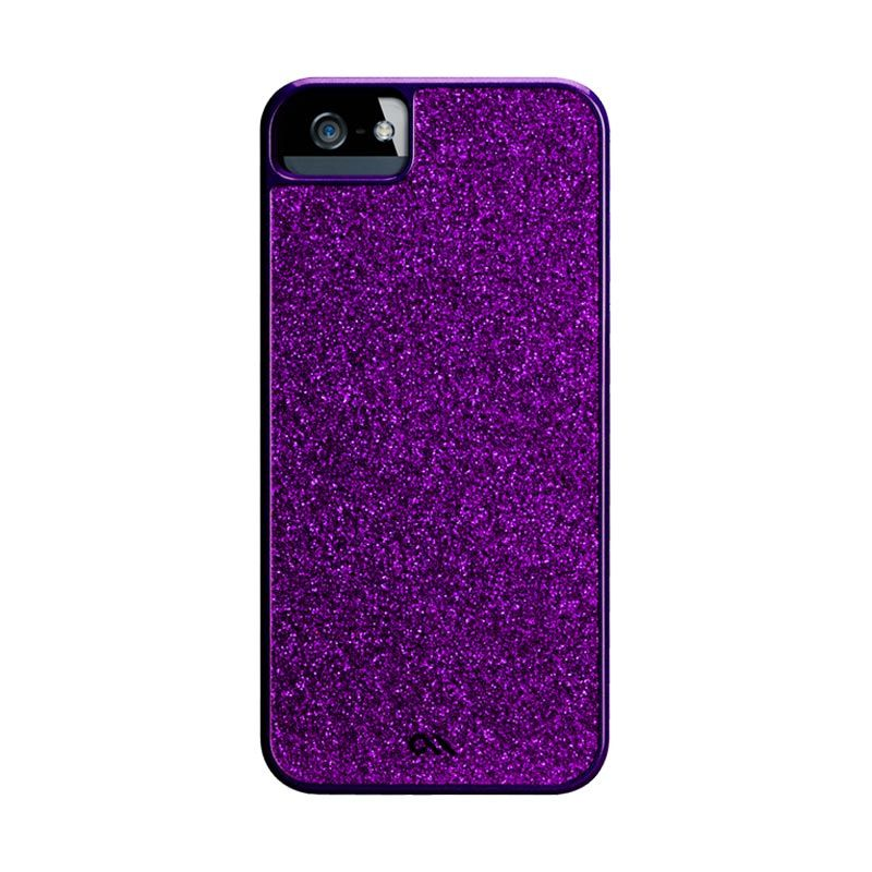Case-Mate Glam Violet Purple Casing for iPhone 5 or 5S