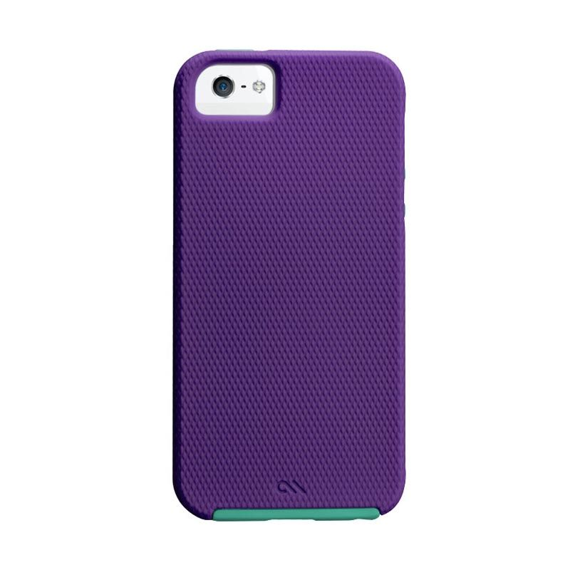 Case-Mate iPhone 5 Tough - Violet Purple/Pool Blue