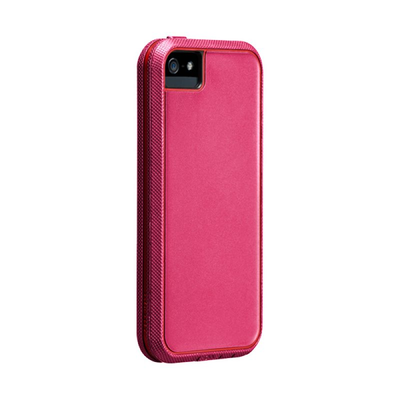 Case-Mate Tough Xtreme TBD Pink and Red Casing For iPhone 5