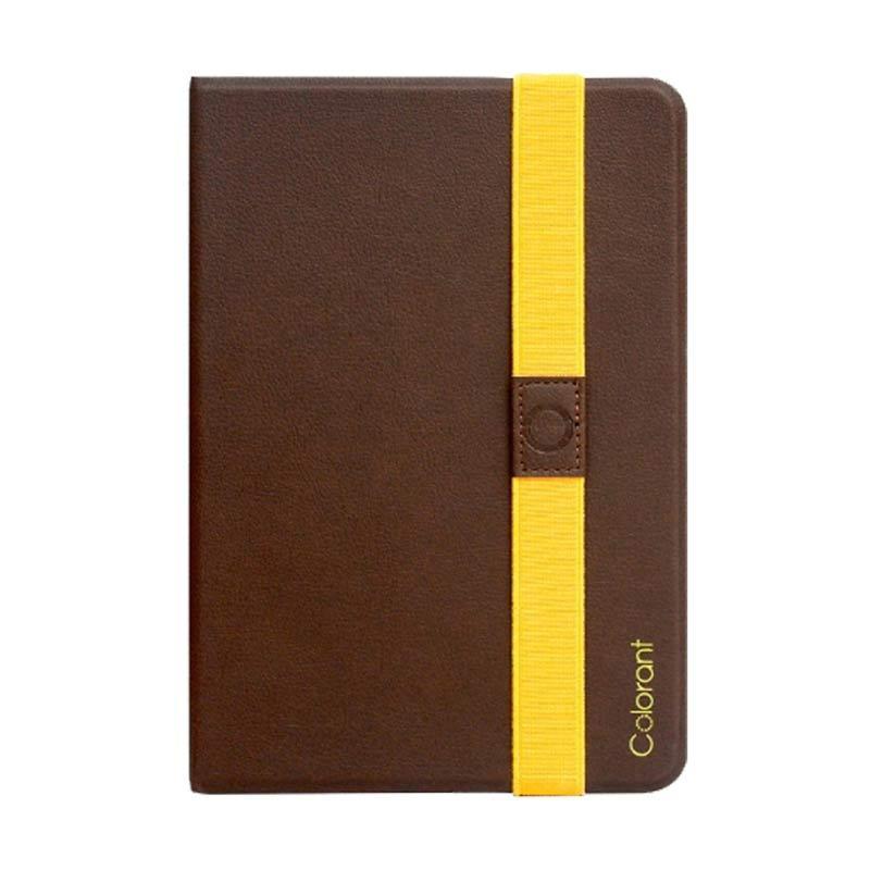 Colorant iPad Mini Book Cover - Coklat