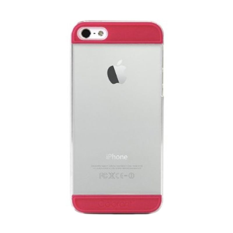Colorant iPhone 5 C2 - Clear/Pink