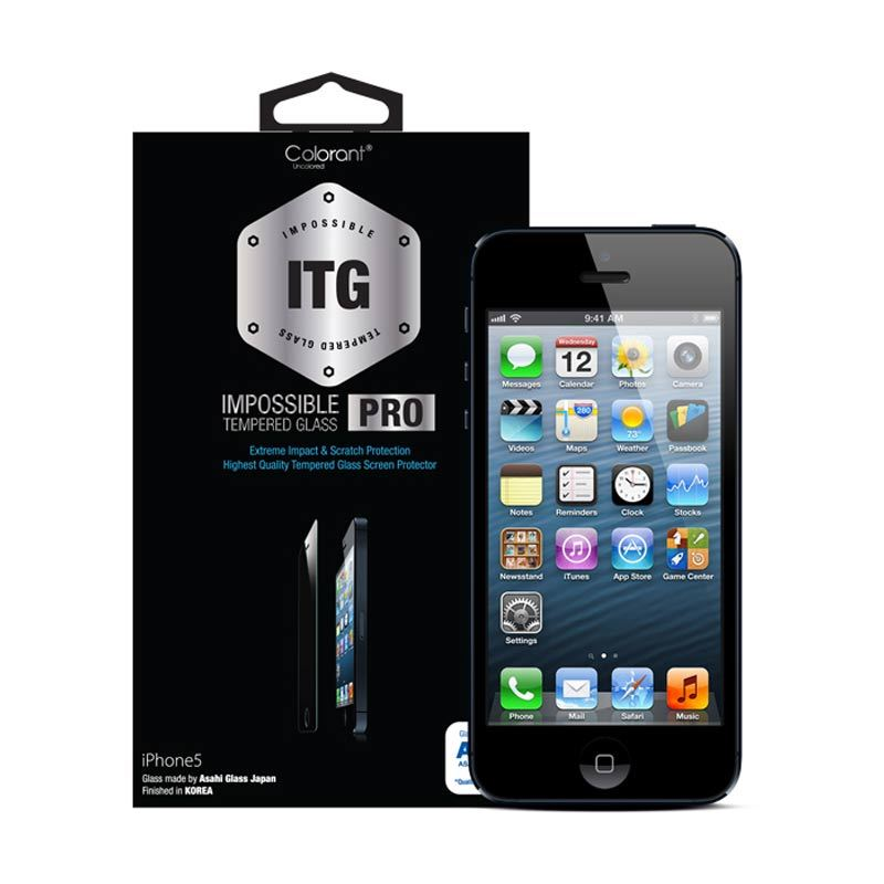 Colorant iPhone 5S USG ITG Pro - Glass Clear